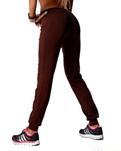 Donna Donna Marrone Ae Cioccolato Pantaloni Marrone Ae Pantaloni qXaPwS77