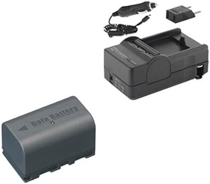SDM-180 Charger SDBNVF815 Battery Syenrgy Digital Camcorder Accessory Kit Works with JVC GY-HM70U Camcorder includes