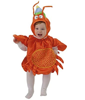 Mullins Square Crab Baby Costume Orange - 6-18 Months  sc 1 st  Amazon.com & Amazon.com: Mullins Square Crab Baby Costume Orange - 6-18 Months ...