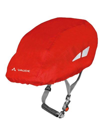 Cheap VAUDE Helmet Rain Cover, Red, One Size