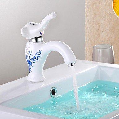 Soap Magic Hands Free Soap Dispenser (White/Light Blue) - 9