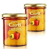 Carli Peppers. Two 280 Gram (10 oz.) jars.