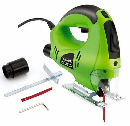 UPC 028907264776, Kawasaki 840276 6-Amp Orbital Jig Saw, Green