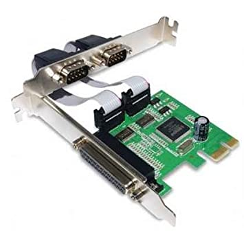 TARJETA PCI-E 1P PARALELO 2P SERIE RS232 SATYCON: Amazon.es ...