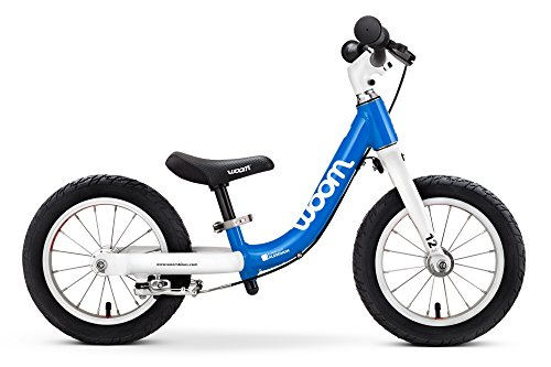 "woom 1 Balance Bike 12"", Ages 18 Months to 3.5 Years, (Team Bicycle Handlebar)"