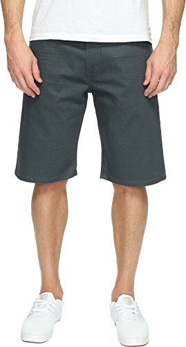 Levi's® Mens Men's 569 Loose Straight Short Green Slate Shorts (Jean Straight 569 Shorts Loose)