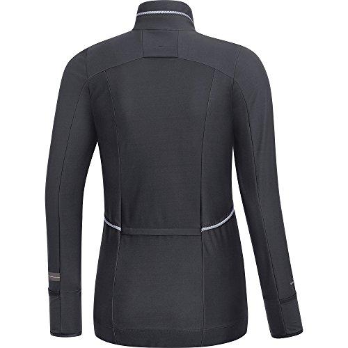 Gore Running Wear Air Lady Windstopper Soft Shell - Camiseta de manga larga para mujer marrón