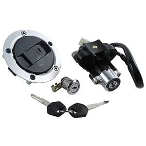 ignition switch lock gas key set for suzuki. Black Bedroom Furniture Sets. Home Design Ideas