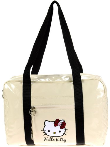 Hek23041 Kitty Borsa Reference Hello Shopping Motivo beige AXO8HAwFqx