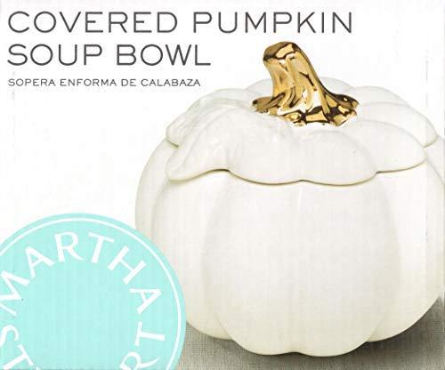 Martha Stewart Collection Harvest Pumpkin Covered Soup Bowl [並行輸入品] B07V45QG89