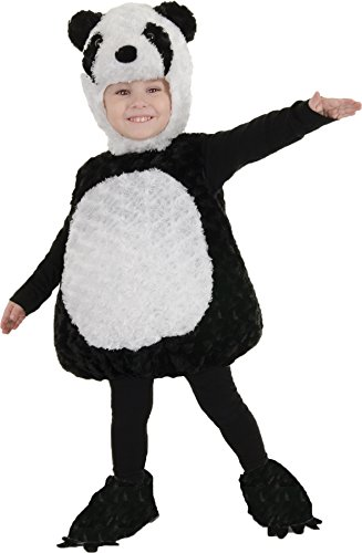 UHC Panda Bear Outfit Toddler Kids Animal Theme Fancy Dress Halloween Costume