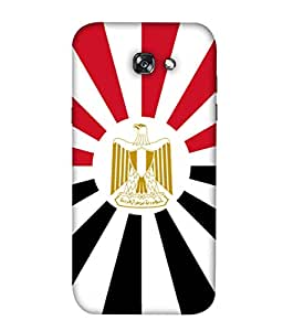 ColorKing Football Egypt 08 Multicolor shell case cover for Samsung A7 2017