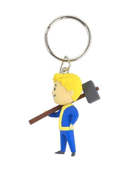 Amazon.com: Llavero de Melee Vault Boy de Fallout: Kitchen ...