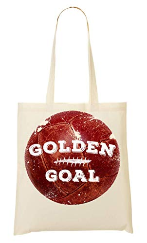 di Goal Bag Football Golden Abdesign Tote 08wqg8