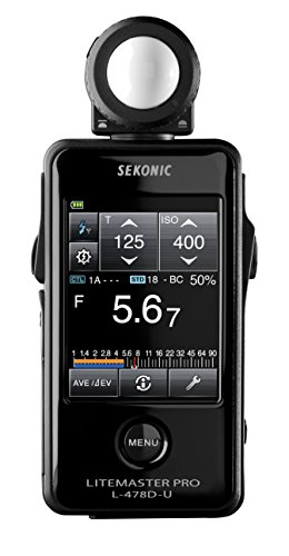 New Sekonic L-478D-U Lightmeter With Exclusive 3-Year Warranty