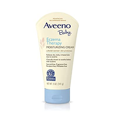 Aveeno Baby Eczema Therapy Moisturizing Cream, 5 Fl. Oz