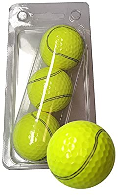 GBM Golf Sport Novelty 3 Ball Sleeve, Tennisball