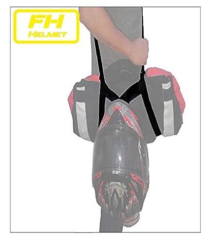 Free Hands Helmet Porta chaqueta y casco. Manos libres moto. Lleva tu chaqueta y tu casco en el bolsillo y las manos libres. 100% poliester con tensor ...