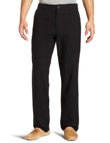 Calvin Klein Men's Bedford Corduroy Pant, Black, 36x32
