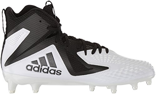 Adidas hombre  freak x carbon Mid Football zapatos blanco / negro / negro