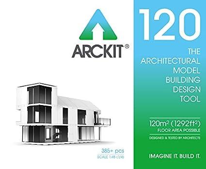 amazon com arckit 120 architectural model building kit 1 4 scale