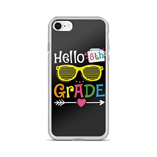 Compatible for iPhone 7/8 Hello 8th Grade Cute Design Student Teacher Gift