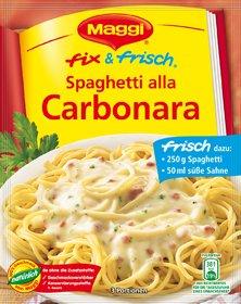 Amazon.com : MAGGI fix & frisch Spaghetti alla Carbonara ... | {Maggi fix 37}