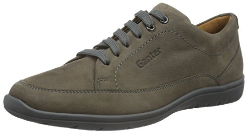 Derby 6100 Gris Ganter Gill para Weite G Asphalt Mujer Zapatos wIPFROq