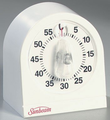 KITCHEN TIMER WHITE by COOK-RITE MfrPartNo - Carded Magnifier