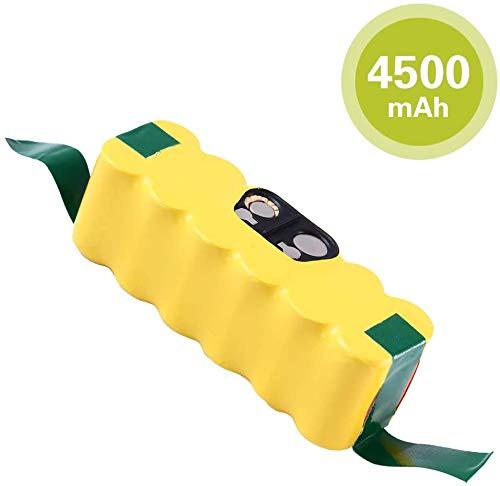 🥇 4500mAh Ni-MH Repuesto para iRobot Batería 14.4v Roomba Aspiradora 500 600 700 800 Serie 500 510 520 530 532 534 535 540 550 552 555 560 562 570 580 581