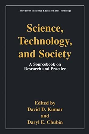 science technology and society research papers Free effects of technology papers, essays, and research effects of technology of society - over the past hundred years man science has been a.