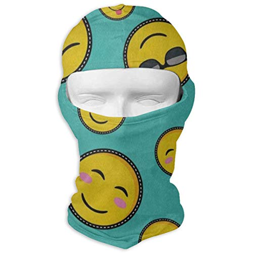 Balaclava Cute Face Emoji Smiley Full Face Masks Ski Sports