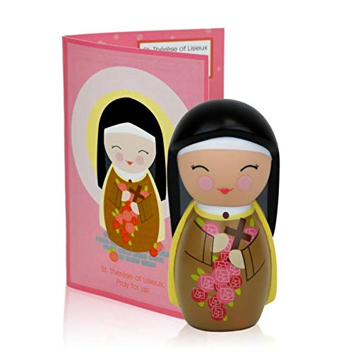 St. Thérèse of Lisieux Collectible Vinyl Figure with Prayer and Story -