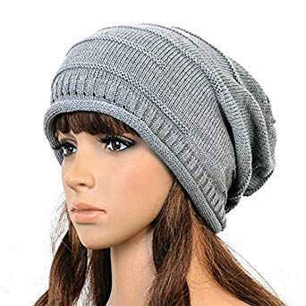 9f4e453674faf 2018 Warm Winter Hats for Women Men Fashion Cable Knitted Knit Baggy ...