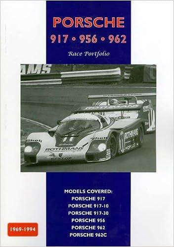 Book Porsche 917, 956, 962 - Race Portfolio