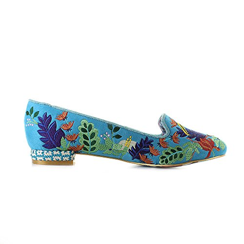 Irregular Choice Yes You Peli Can - Turquoise
