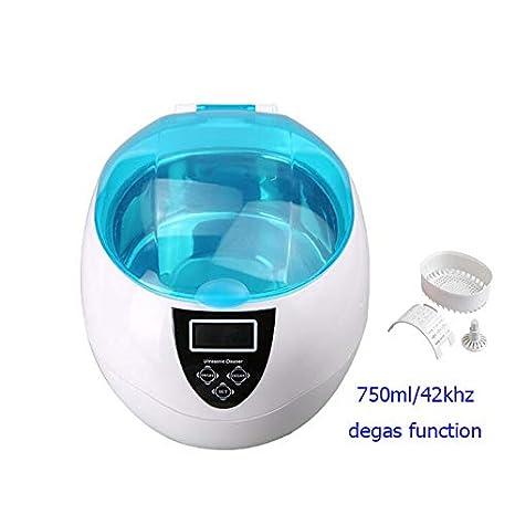 LYA Máquina de Limpieza ultrasónica de 750 ml, Lavadora de joyería ...