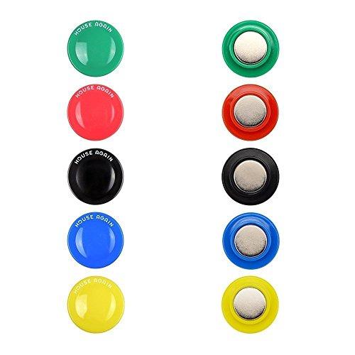 Neodymium Refrigerator Magnets Assorted 30mm Diameter product image