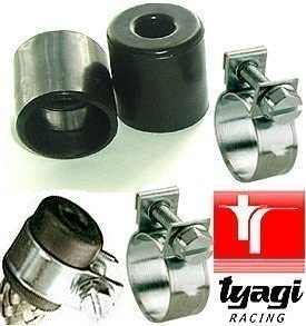 Tyagi Racing Fuel Hose End Cap Finisher Clips 10mm 12mm