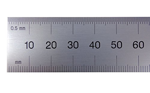 (PEC Rigid Steel Rule - Model: 752-300 Size: 300mm Width: 1