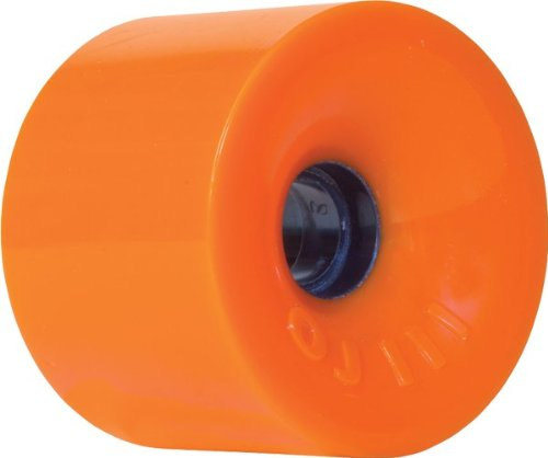 Juice Thunder - OJ Wheels III Thunder Juice 78A 75mm Neon Orange Skateboard Wheels (Set of 4)
