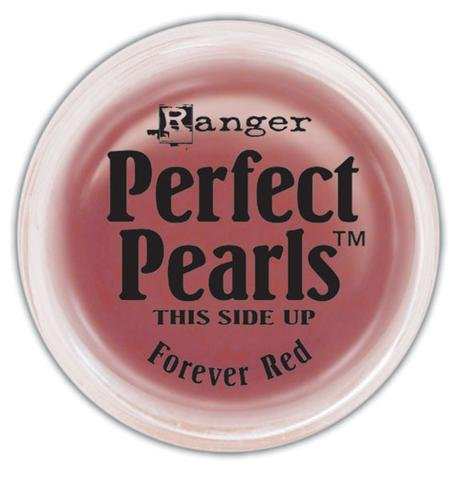 Ranger Perfect Pearls Pigment Powder 0.25oz - Forever Red R a n g e r