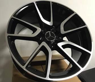 Mercedes Benz Rims >> Amazon Com New 19 Mercedes Benz Amg V Spoke Style Black