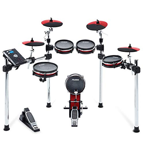 ALESIS COMMAND X MESH KIT  RED   B07K5R6GGD