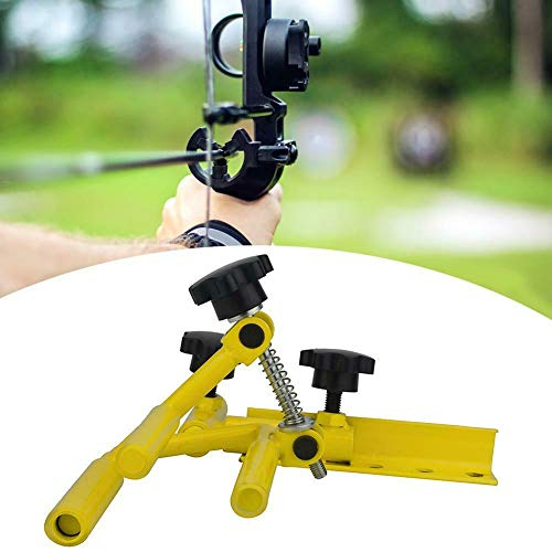 Sososhoot Hunting Archery Parallel Universal Bow Vise Adjustable Tool Metal Compound Bow