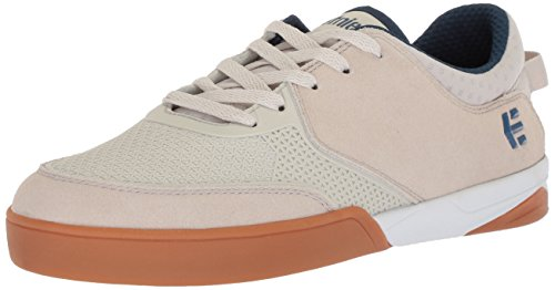 Etnies Men's Helix Skate Shoe, White/Navy/Gum, 9.5 Medium US ()