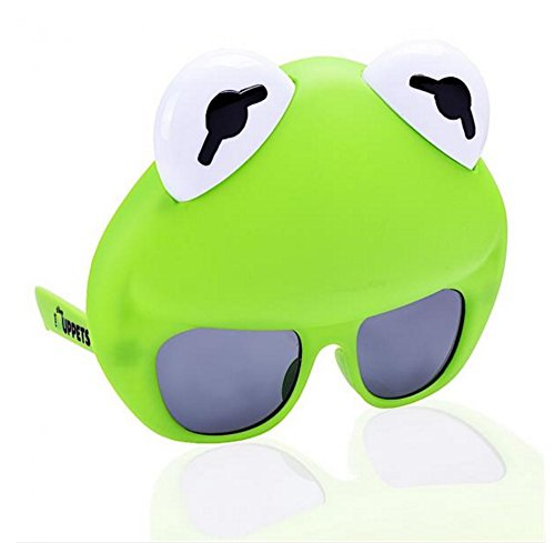 Forum Novelties Sunstaches - The Muppets - Kermit The Frog -
