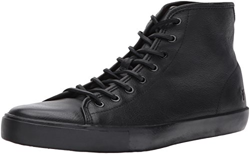 FRYE Men's Brett High Tennis Shoe Black outlet online shop discount big discount pay with visa cheap price aRFrqYP22