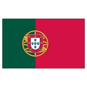 Banderas Unlimited 3 x 5 de bandera de Portugal portugués 3 x 5 nuevo pancarta Portugese: Amazon.es: Jardín