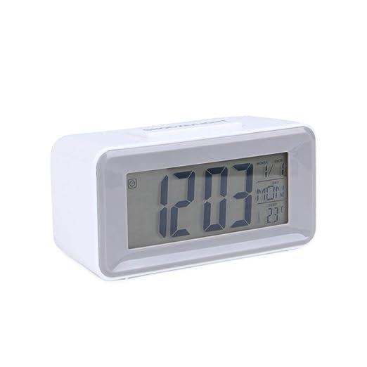 LPKGYHUS Reloj Despertador Reloj Despertador Led Relojes De Mesa ...